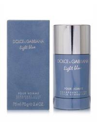 Dolce & Gabbana Light Blue Pour Homme  deo-stick 75 ml.