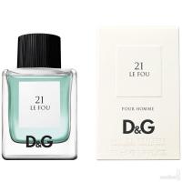 Dolce & Gabbana D&G Anthology Le Fou 21  edt 50 ml.