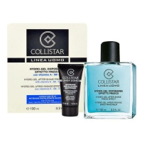 Collistar Набор Linea Uomo Hydro Gel After Shave Fresh Effect  (Гель после бритья 100 ml. + Увлажняющий крем 30 ml.)