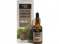 Organic shop масло кедра для волос 30 мл