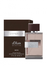 s.Oliver Superior Men  edt 50 ml.