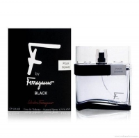 Salvatore Ferragamo F by Ferragamo Black  edt 50 ml.