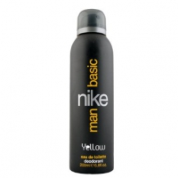 Nike Basic Yellow Man  deo 200 ml.